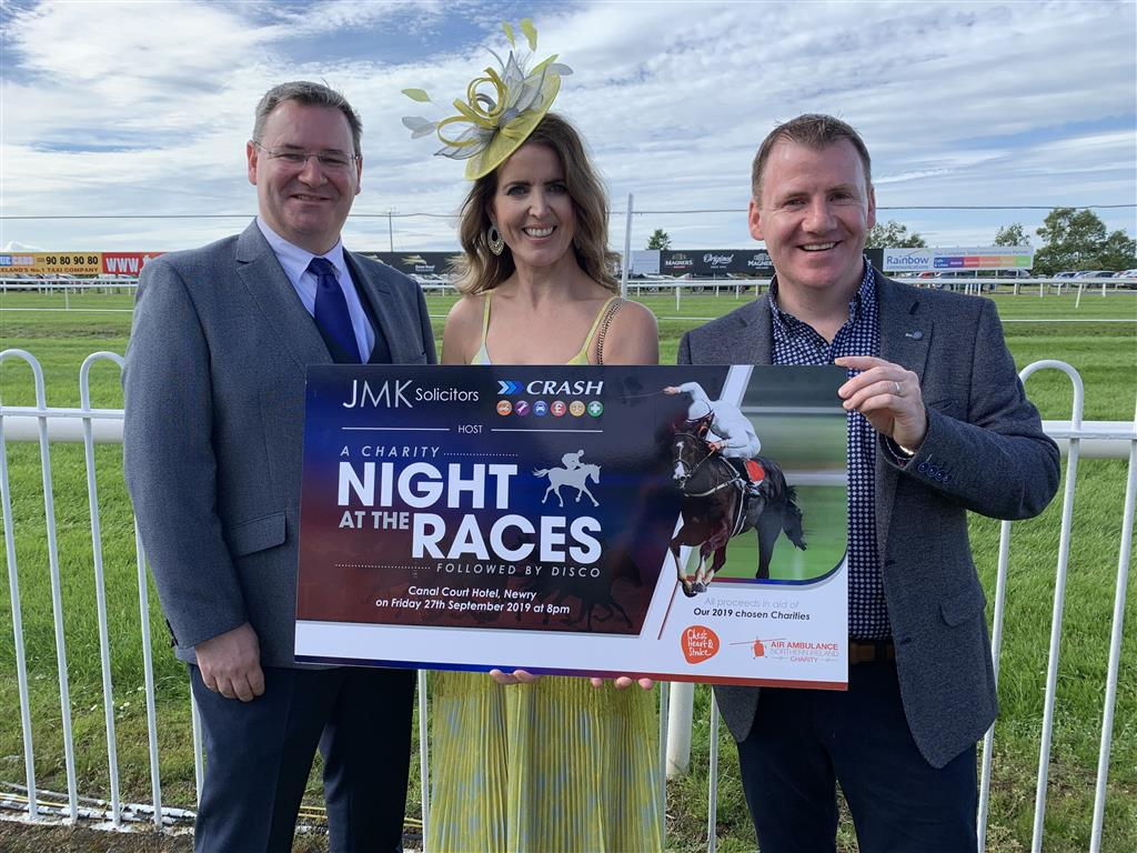 JMK solicitors charity night at the races 2019