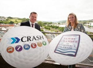 CRASH launch golf classic with newry chamber 2016