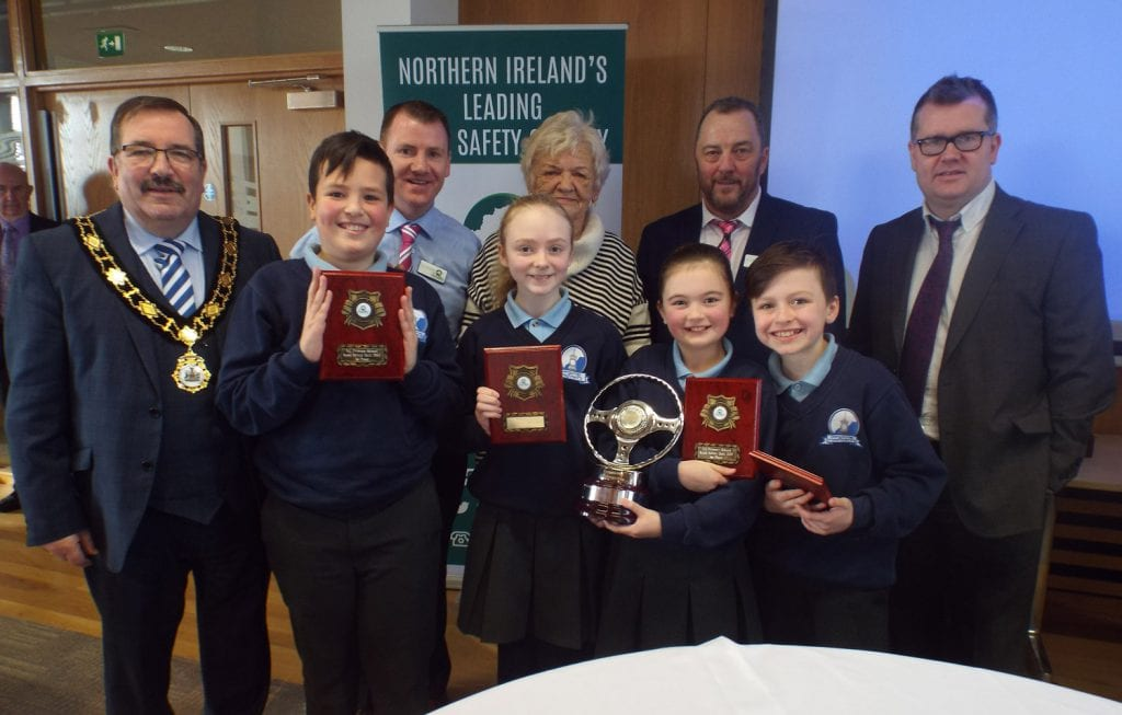Road Safety Quiz winners 2017