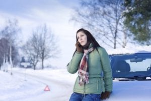Winter driving checklist - be careful