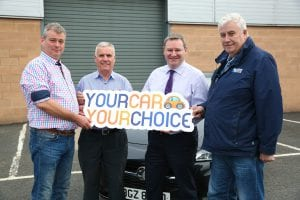 CRASH support your car your choice week