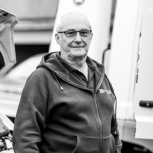 Norman Lavery from CRASH Services Belfast