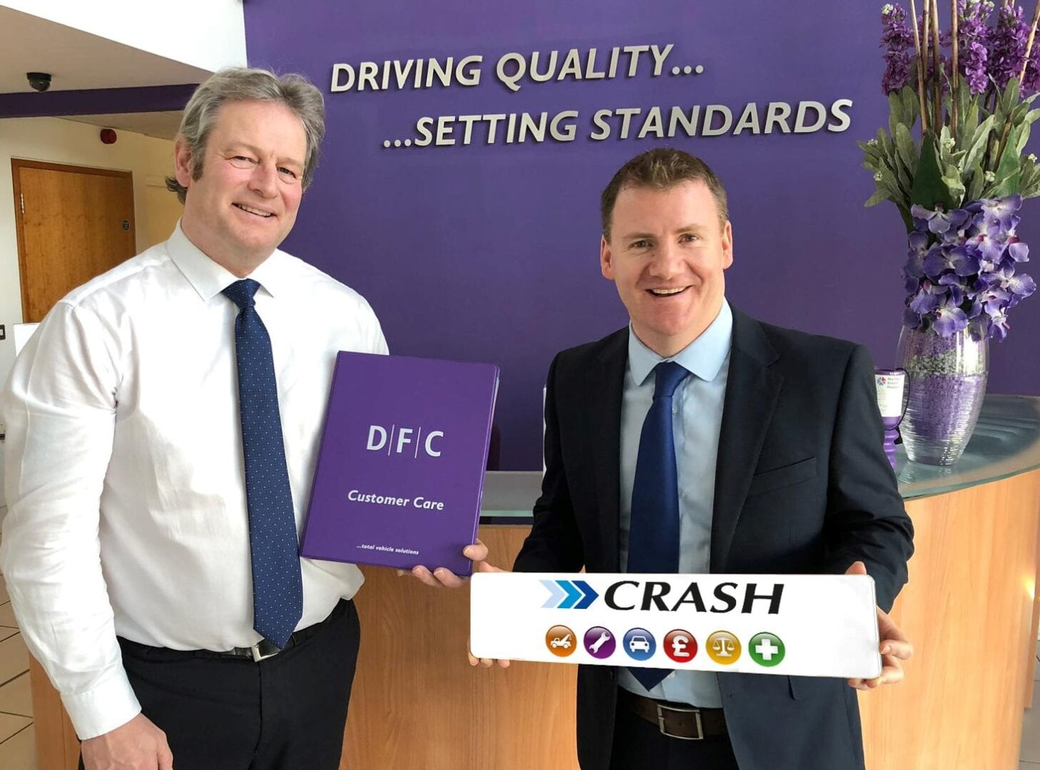 DFC and CRASH Services team up for accident management support