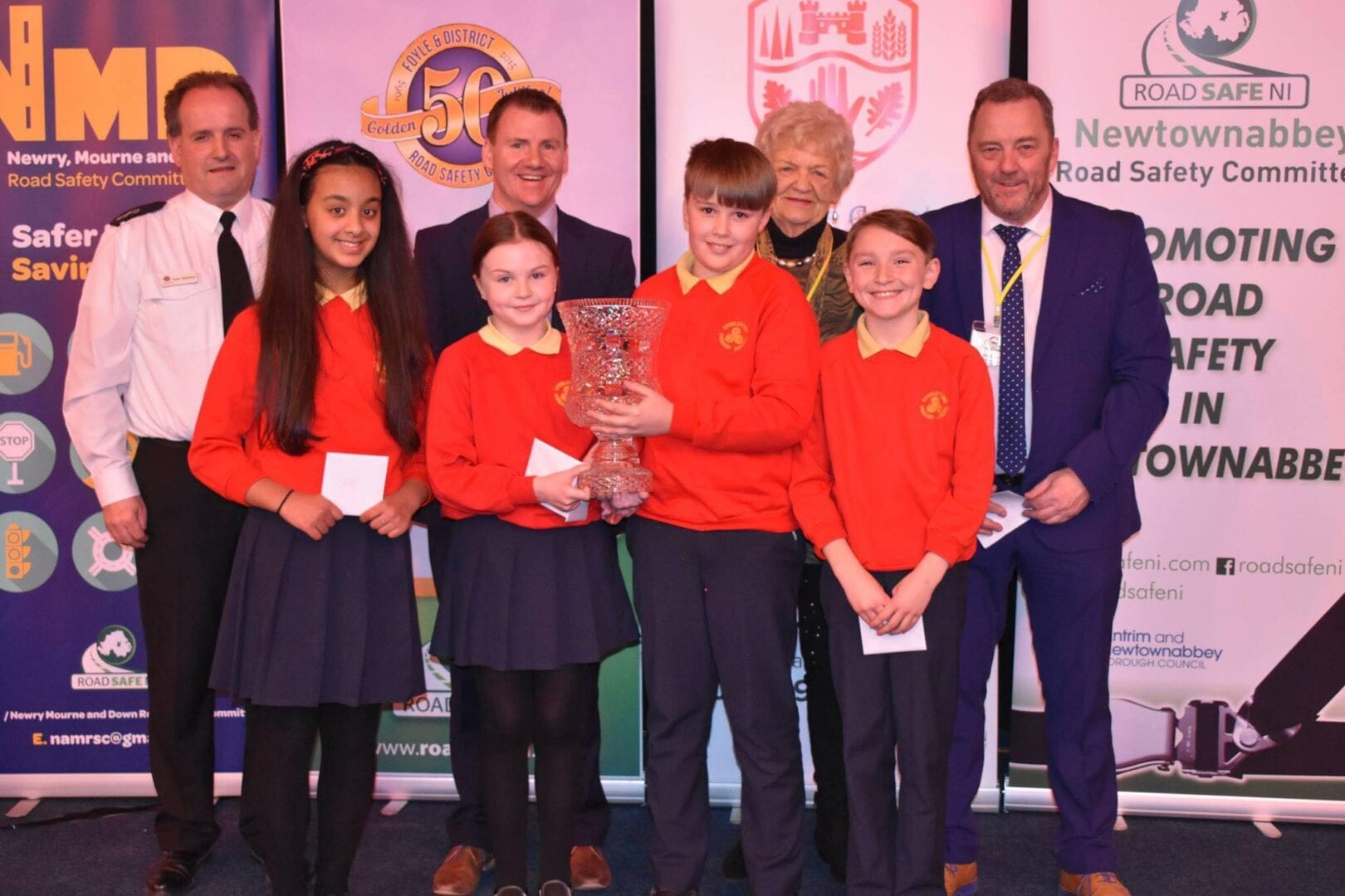 Steelstown win NI Primary School Road Safety
