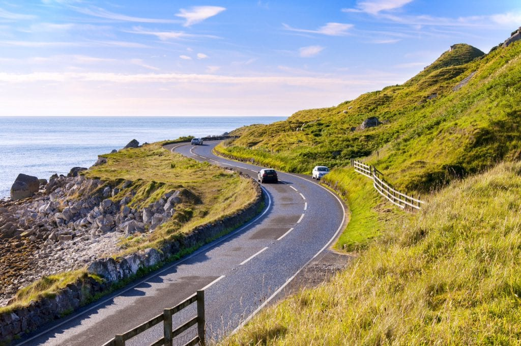 What to if you have a collision in the Republic of Ireland