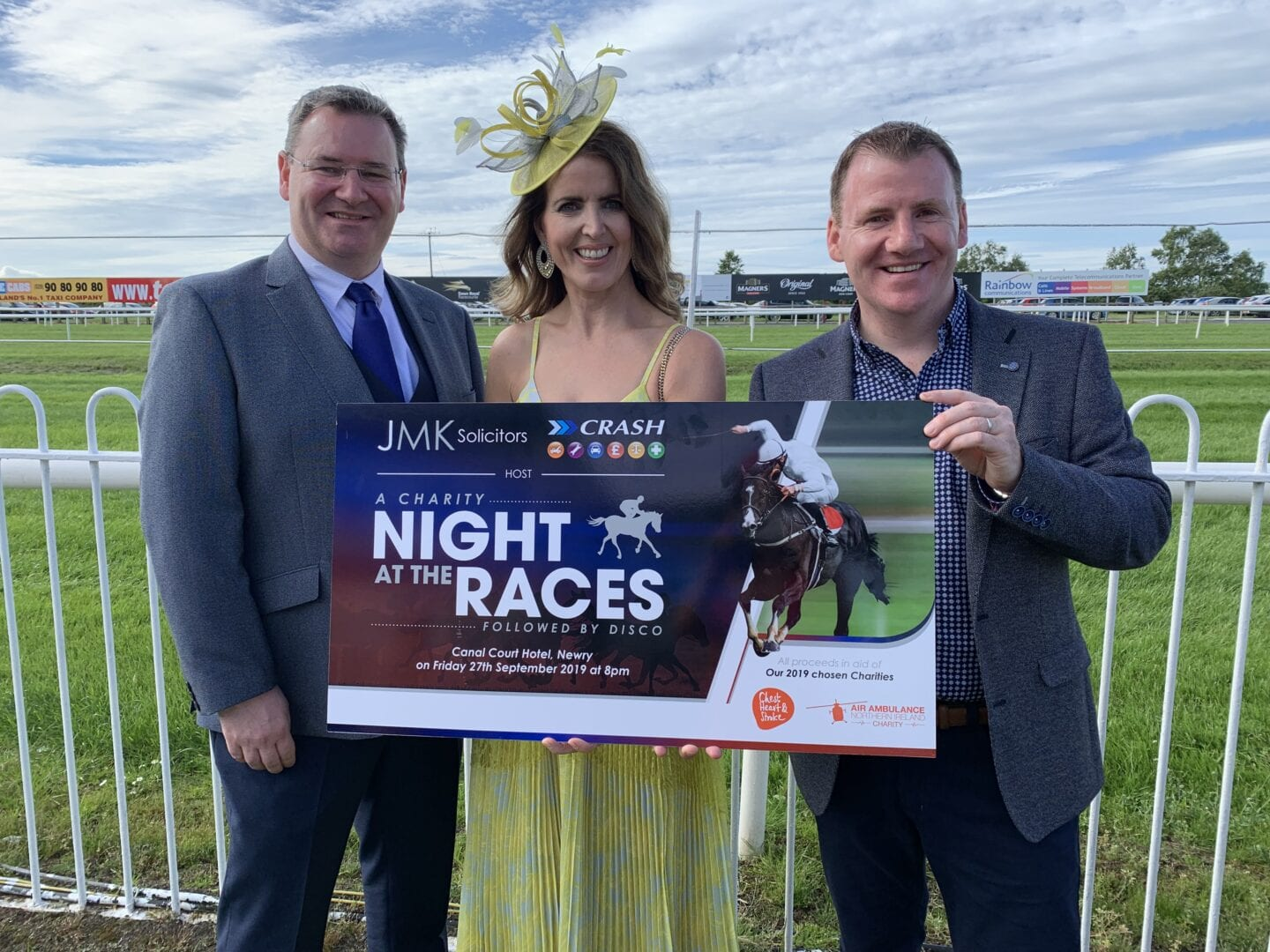 CRASH Services/JMK Solicitors Charity Night at the Races 2016