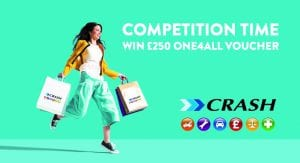 WIN £250 ONE4ALL voucher with CRASH Services