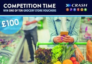 Competition to win one of ten grocery vouchers worth £100