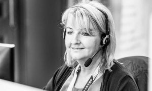 Irene Canavan is a receptionist working at CRASH Services
