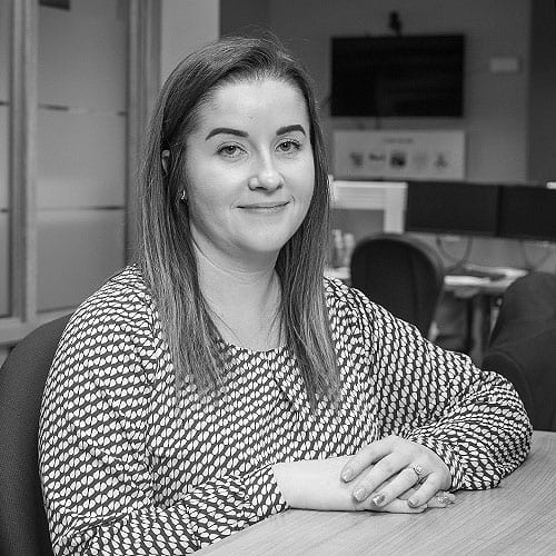 Amy Heaney part of the claims team at CRASH Services