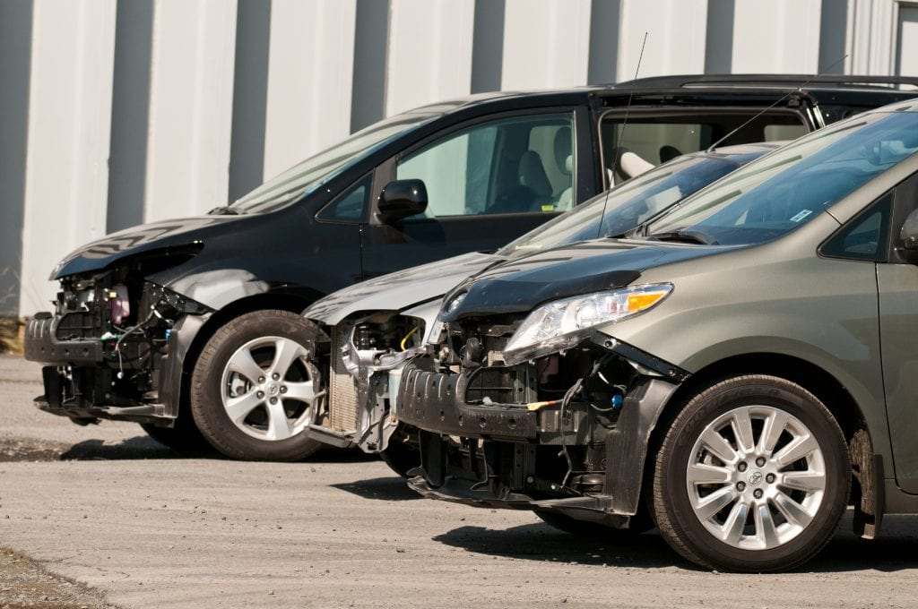 damaged cars with no bumpers can be repaired by CRASH