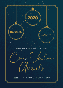 crash core value awards 2020