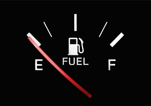 How many miles can I travel after my fuel light comes on?