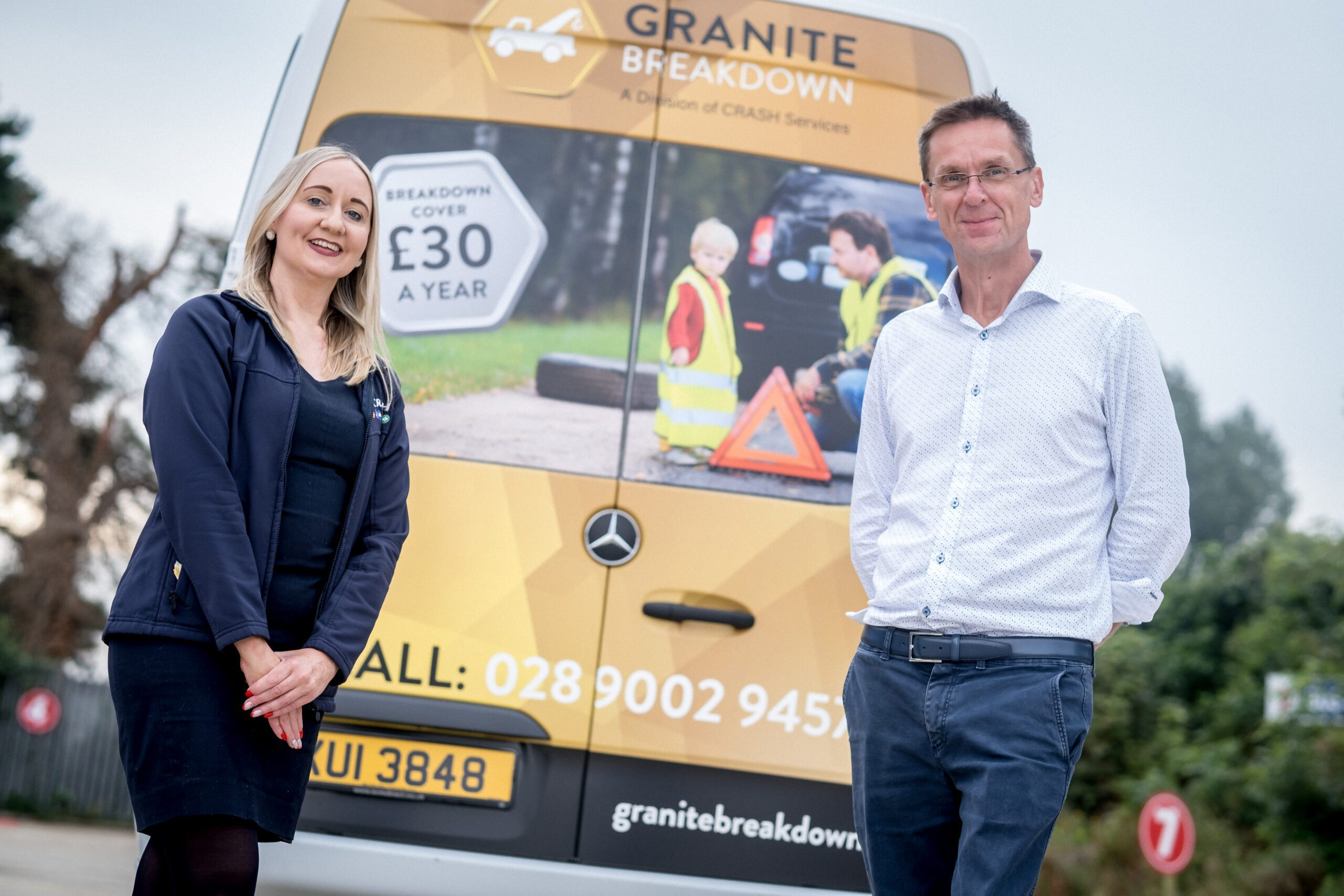 Granite Breakdown team up with Airpoter bus company in Derry